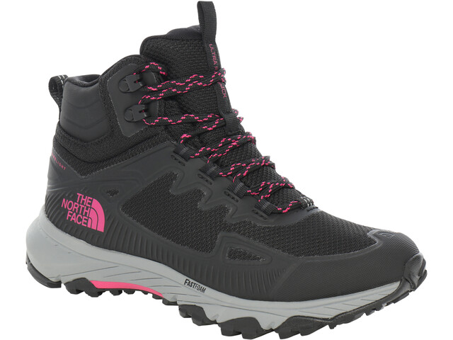 The North Face Ultra Fastpack 4 Mid Futurelight Shoes Women tnf black/mr.pink